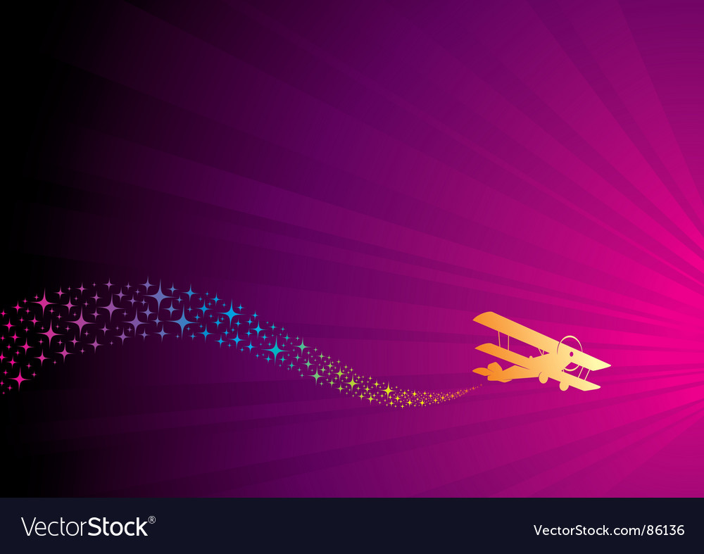 Fun flight vector | Price: 1 Credit (USD $1)