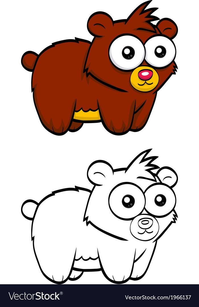 Cartoon bear vector   Price: 1 Credit (USD $1)