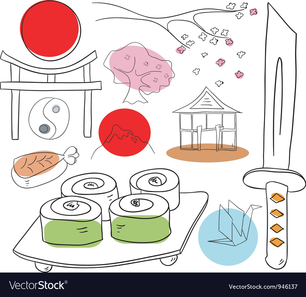 Japan collection vector   Price: 1 Credit (USD $1)