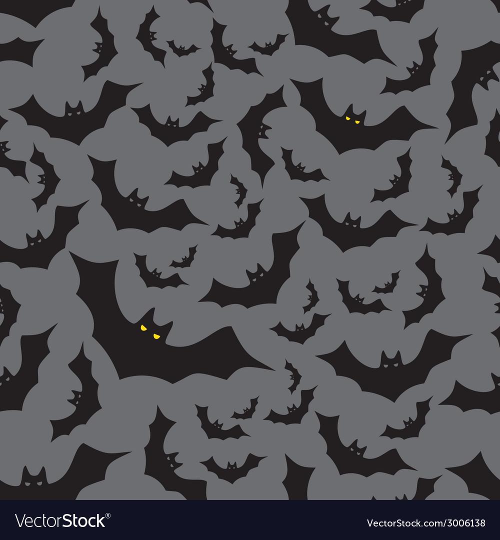 Bat seamless dark pattern eps10 vector | Price: 1 Credit (USD $1)