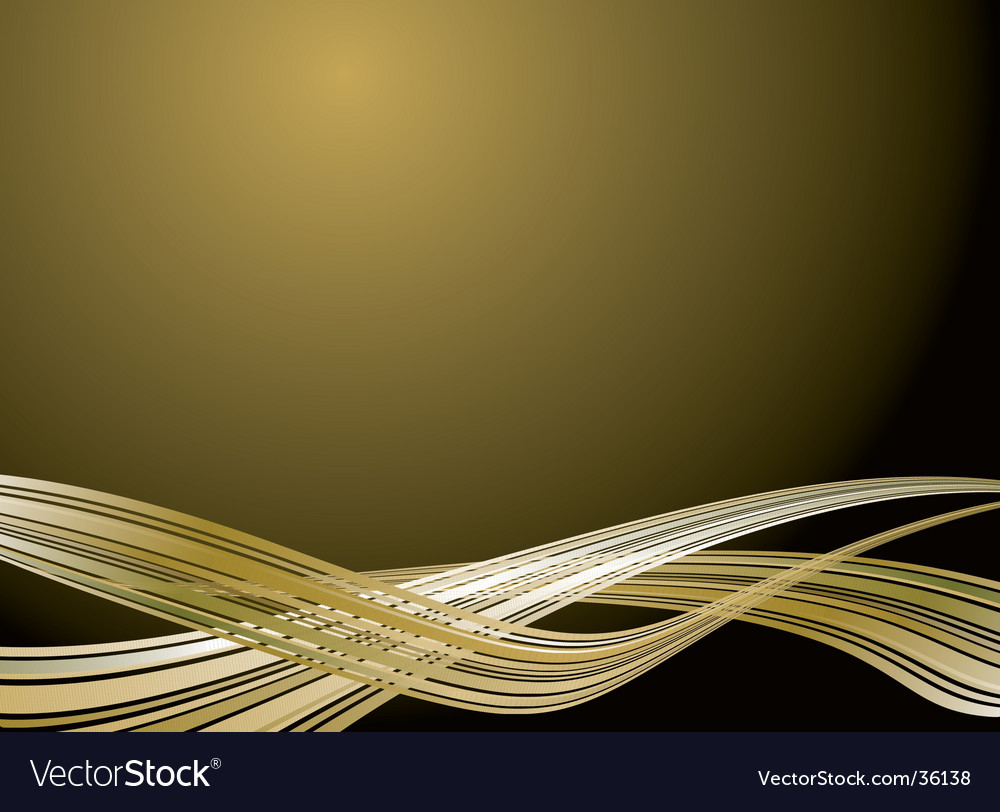 Inter galactic design gold vector | Price: 1 Credit (USD $1)