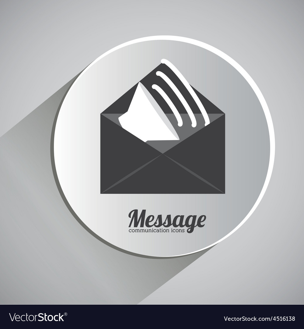 Message design vector | Price: 1 Credit (USD $1)