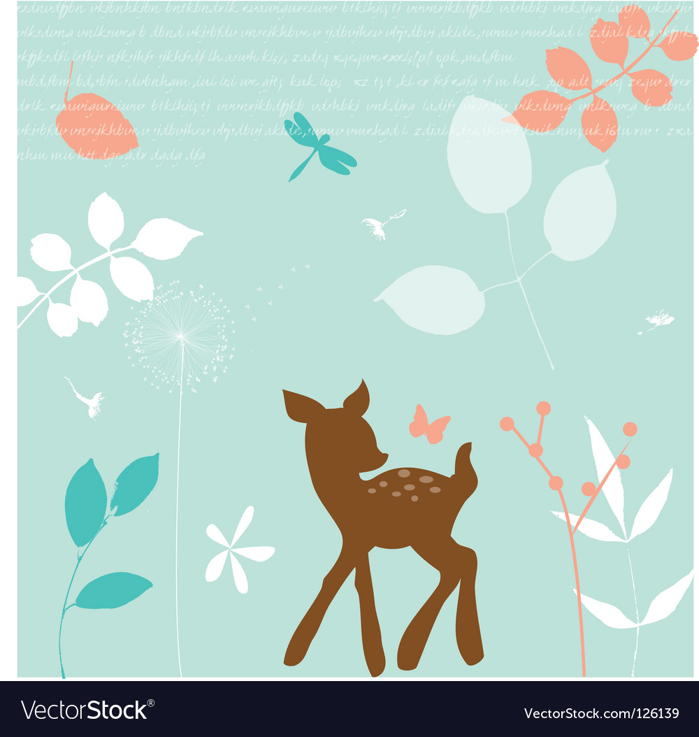 Bambi vector | Price: 1 Credit (USD $1)