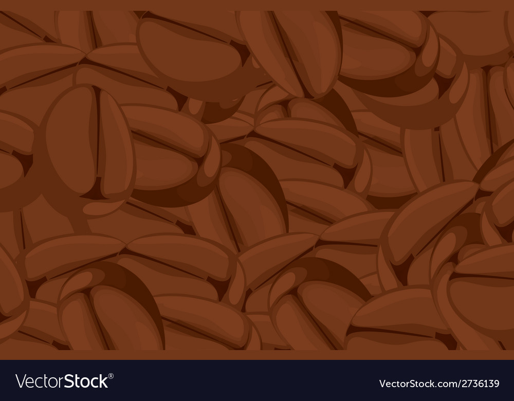 Coffee bean vector | Price: 1 Credit (USD $1)
