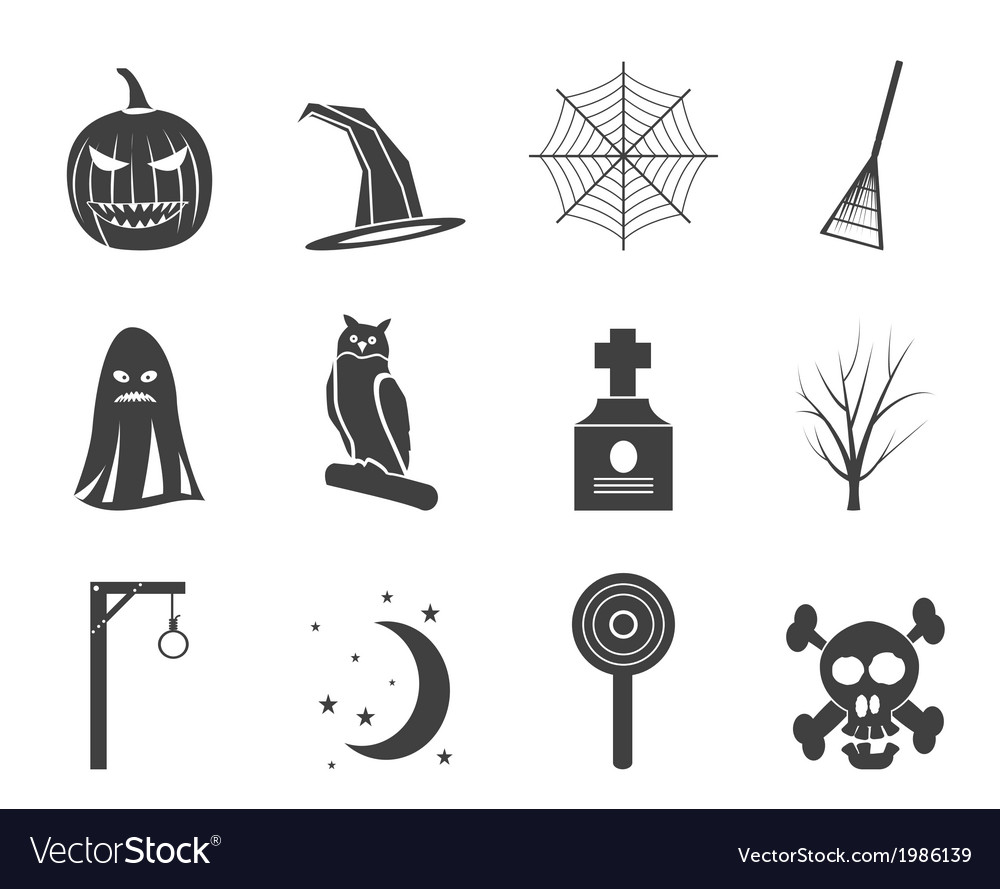 Halloween icon pack vector   Price: 1 Credit (USD $1)
