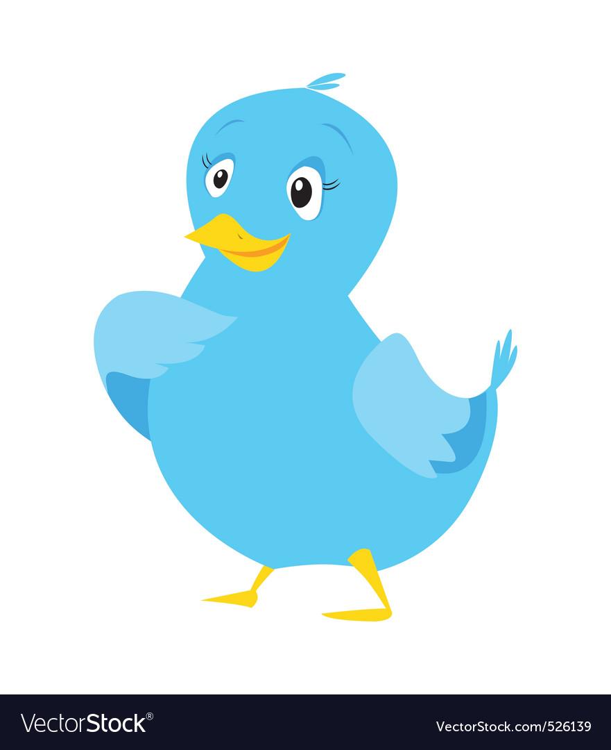 Tweet bird vector | Price: 1 Credit (USD $1)