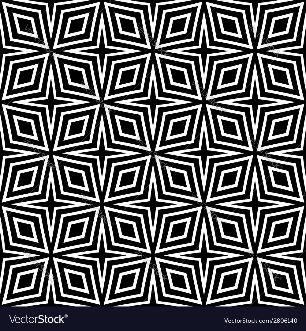 Seamless diamonds pattern vector | Price: 1 Credit (USD $1)