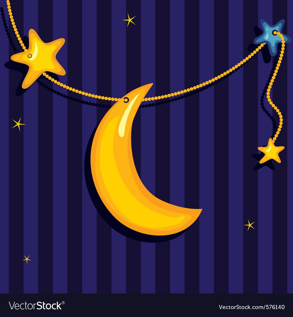 Sweet dreams background vector | Price: 1 Credit (USD $1)