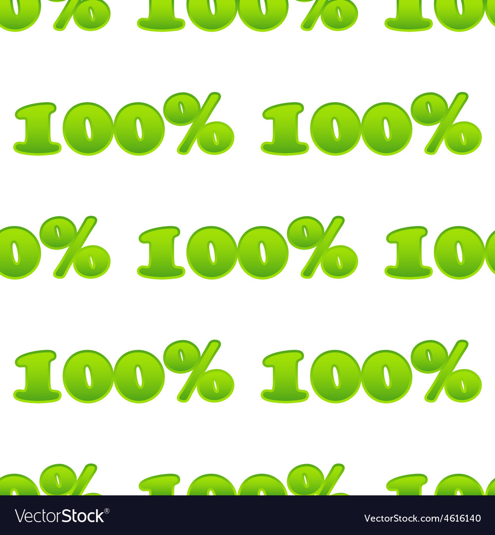 Text 100 pattern vector | Price: 1 Credit (USD $1)