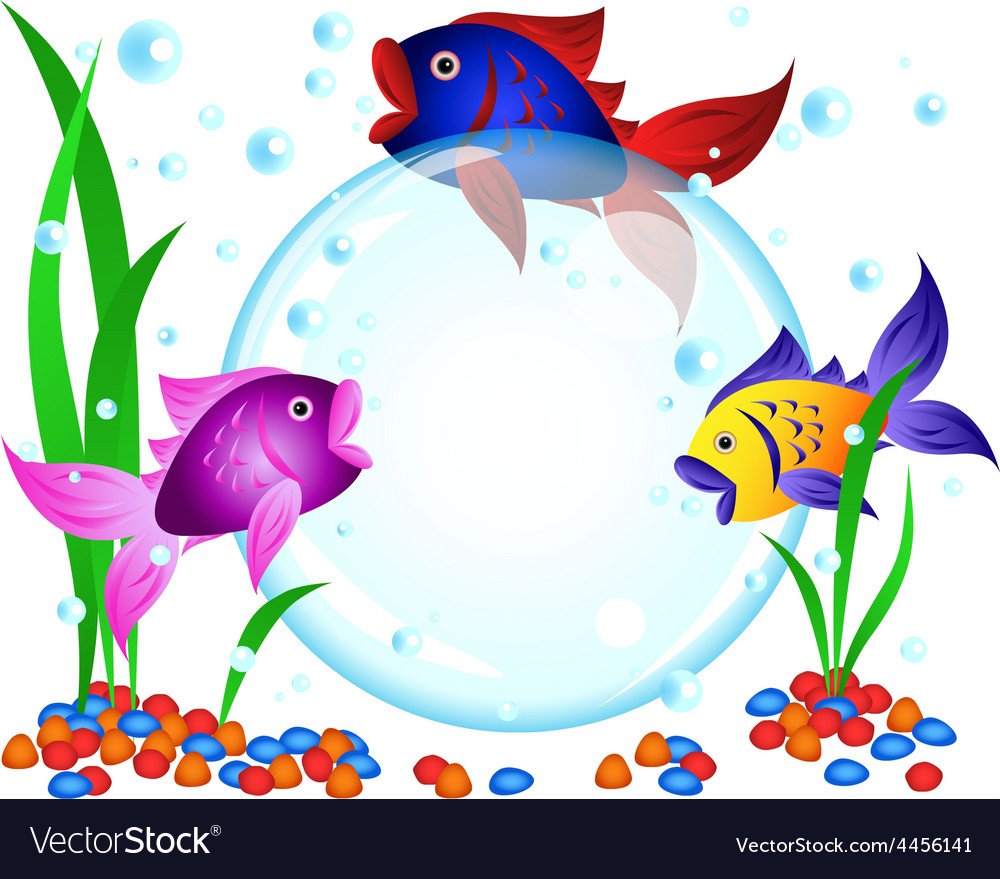 Fish advertisement vector | Price: 1 Credit (USD $1)