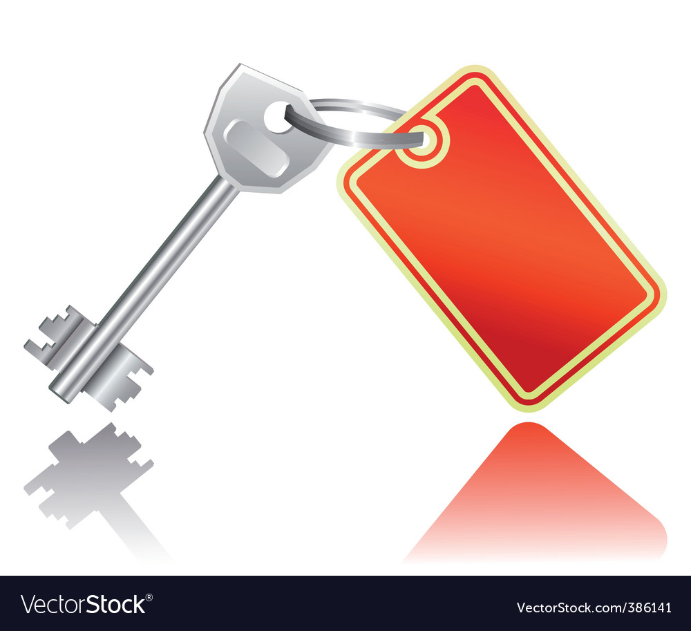 Key with label vector | Price: 1 Credit (USD $1)