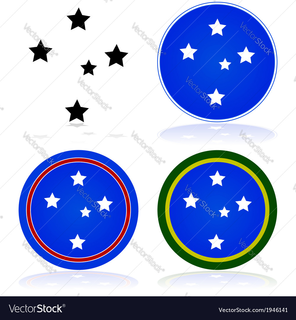 Southern cross vector | Price: 1 Credit (USD $1)