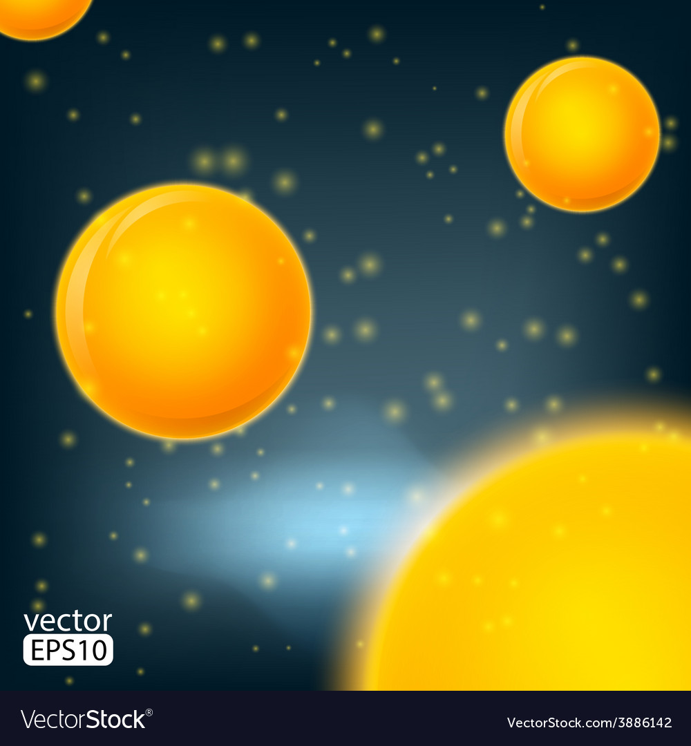 Molecules bakterie spheres abstract background vector | Price: 1 Credit (USD $1)