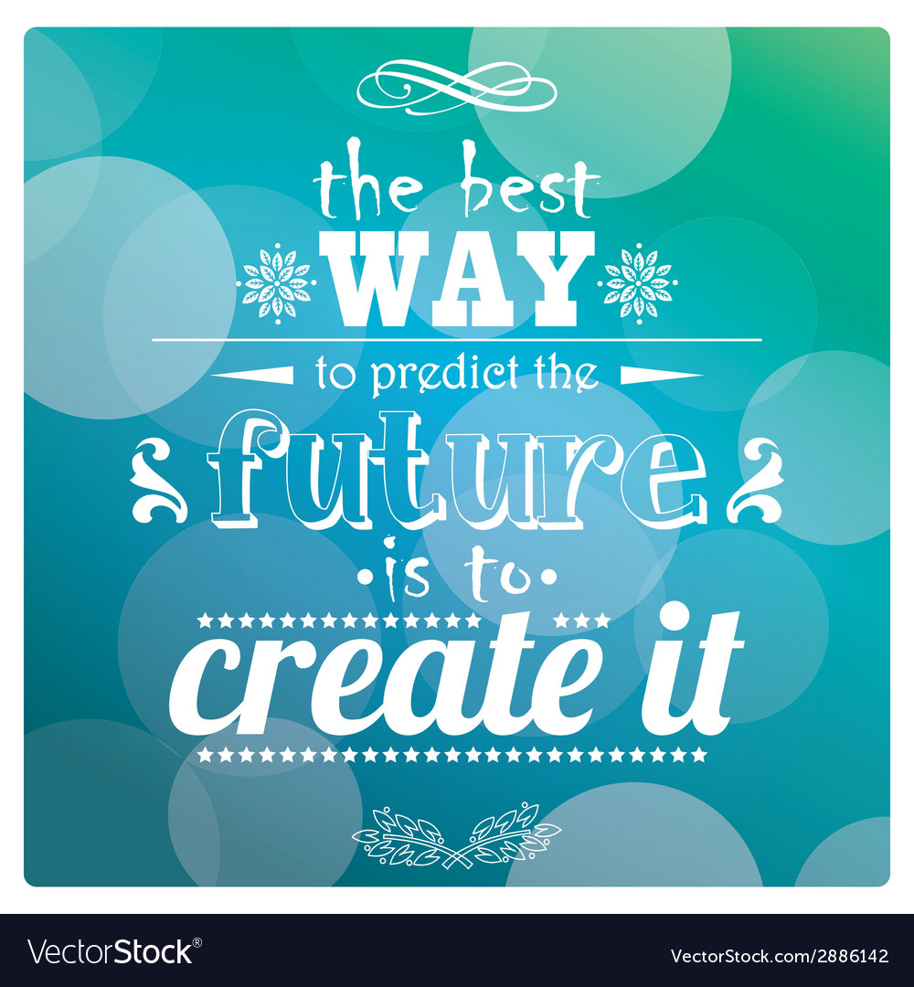 Quote inspirational poster typographical design vector | Price: 1 Credit (USD $1)