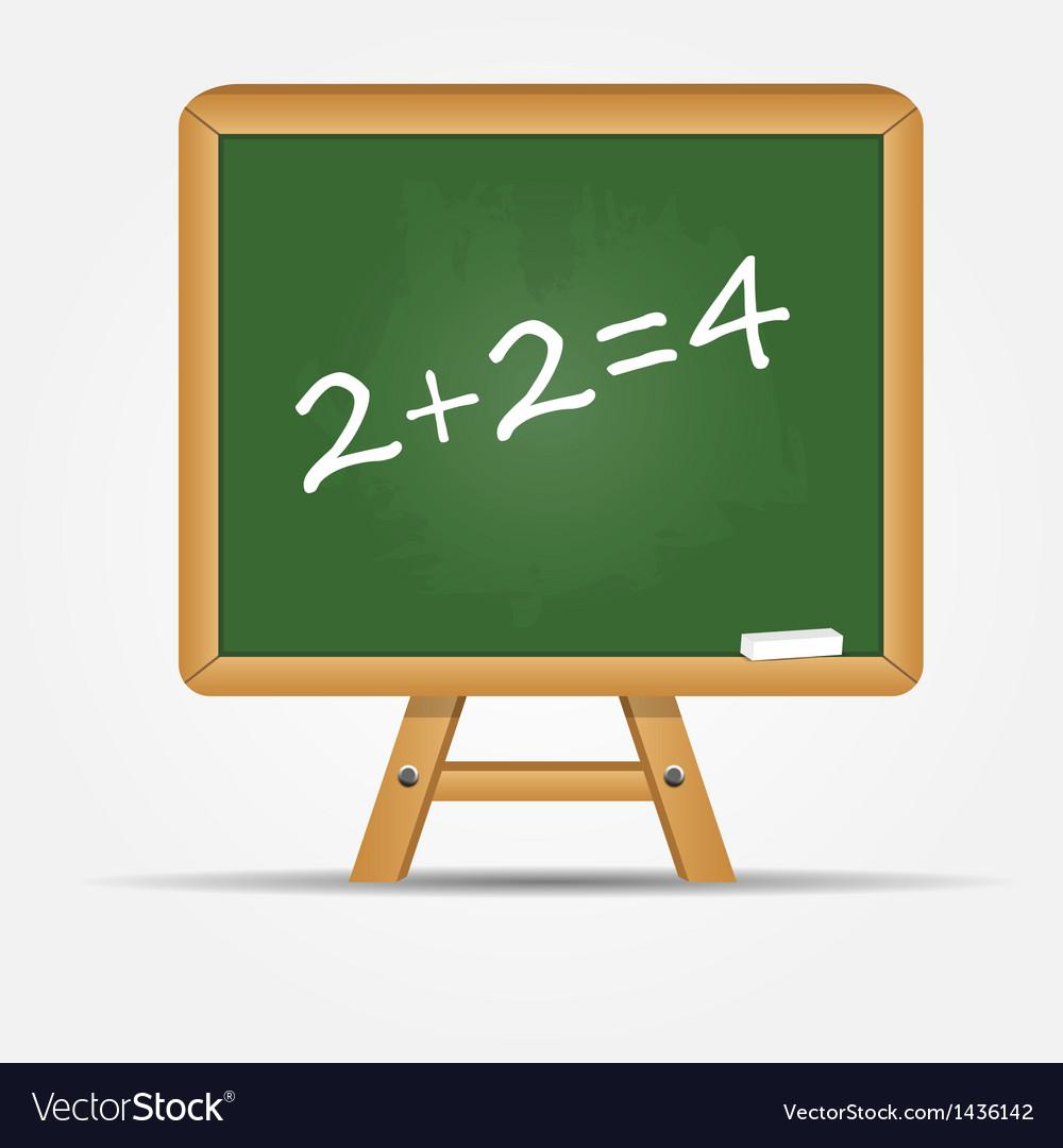 School board icon vector | Price: 1 Credit (USD $1)