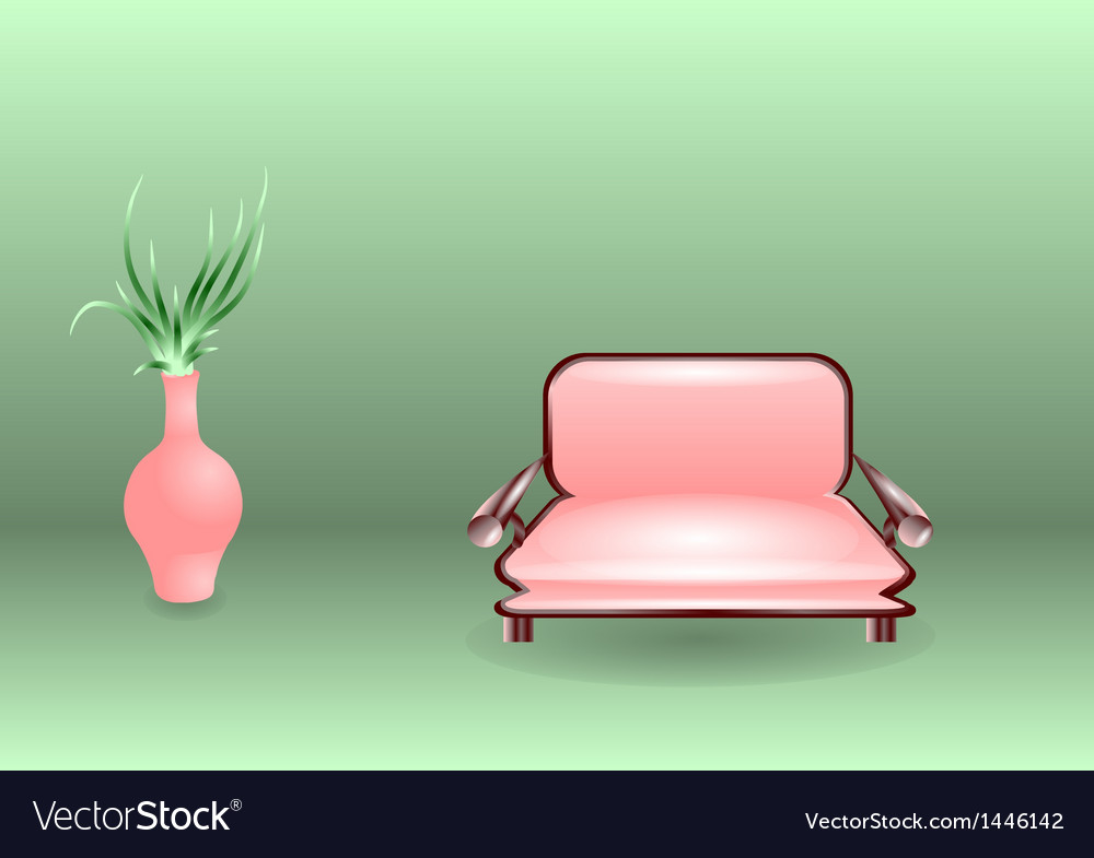 Sofa vector | Price: 1 Credit (USD $1)