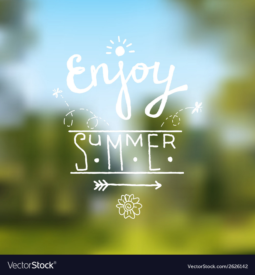 Summer design background vector | Price: 1 Credit (USD $1)