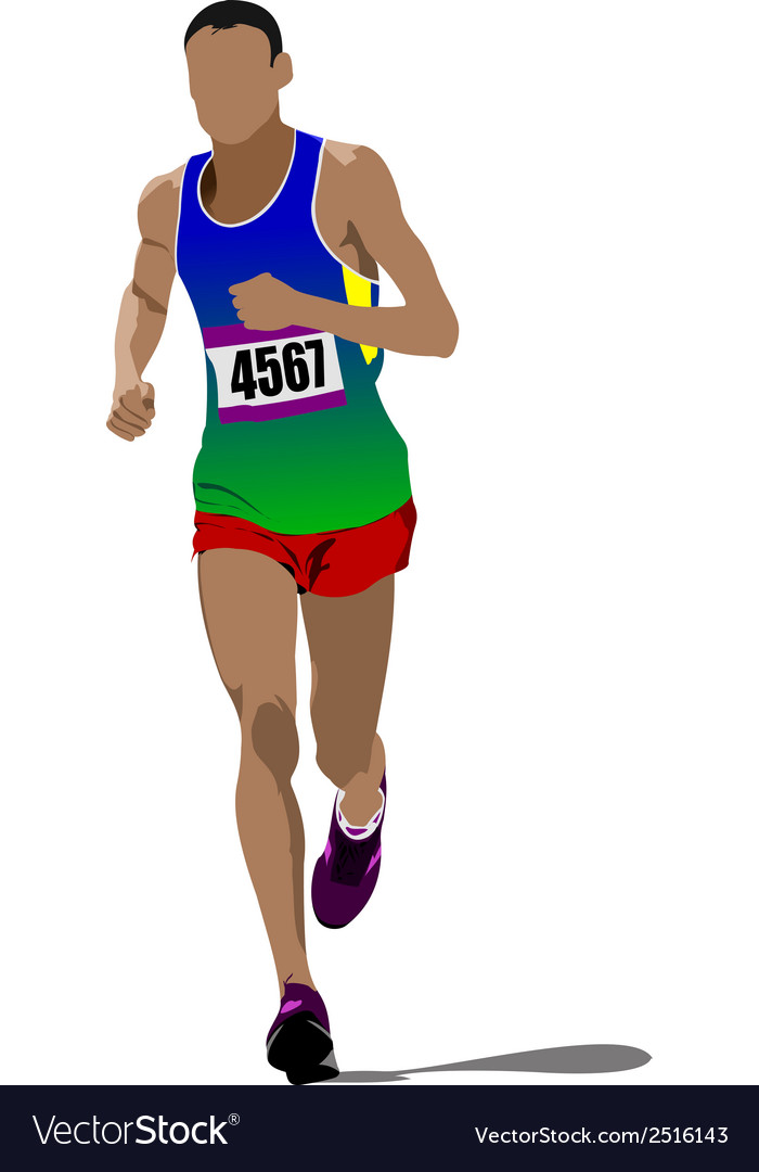 Al 0232 running vector | Price: 1 Credit (USD $1)
