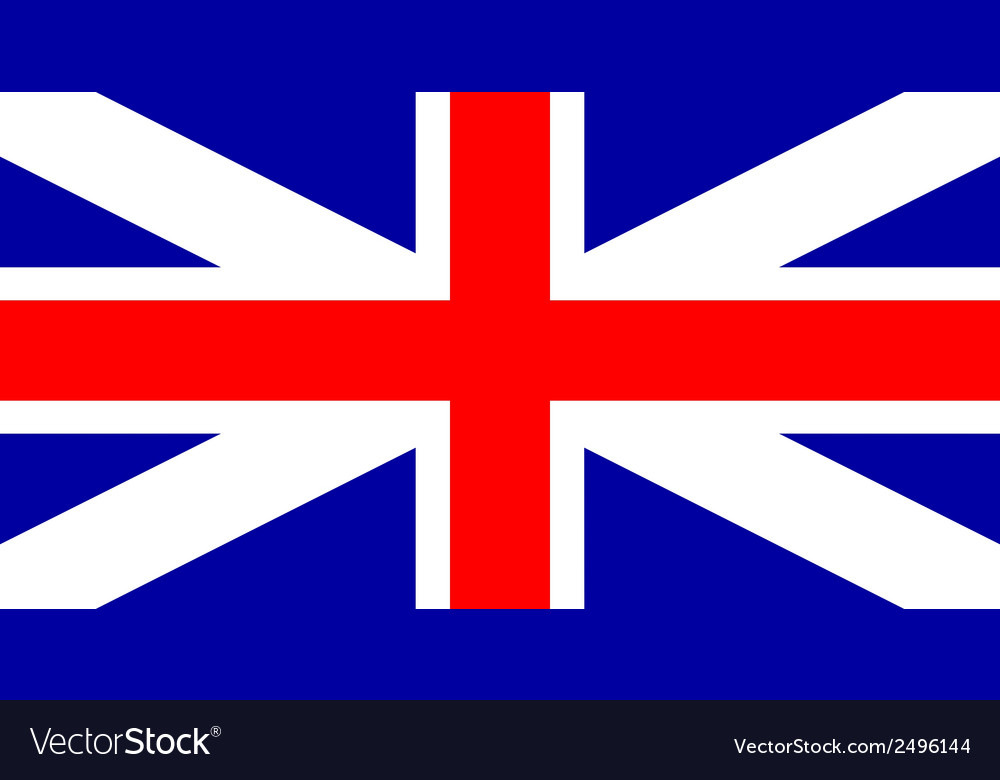 Flag of united kingdom vector | Price: 1 Credit (USD $1)