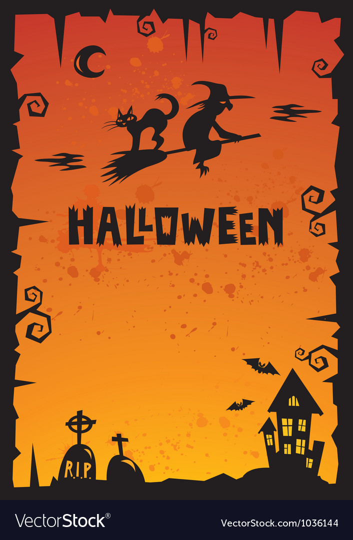 Halloween background 2012 vector | Price: 1 Credit (USD $1)