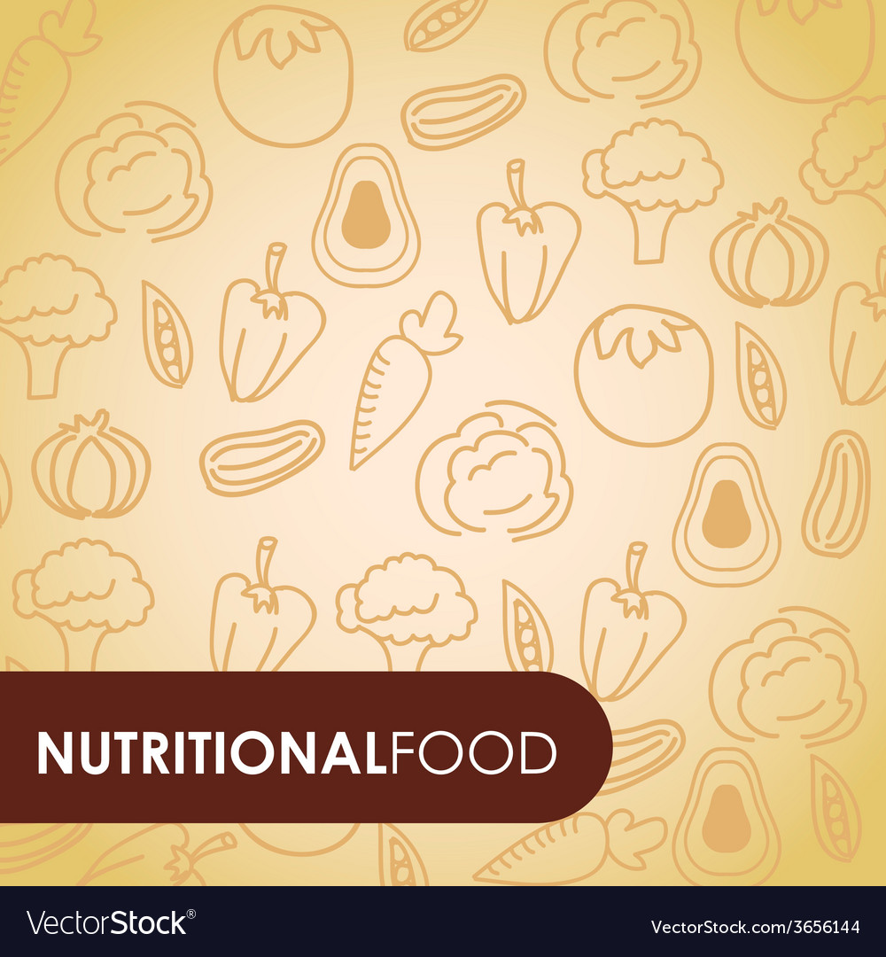 Nutritional food vector | Price: 1 Credit (USD $1)