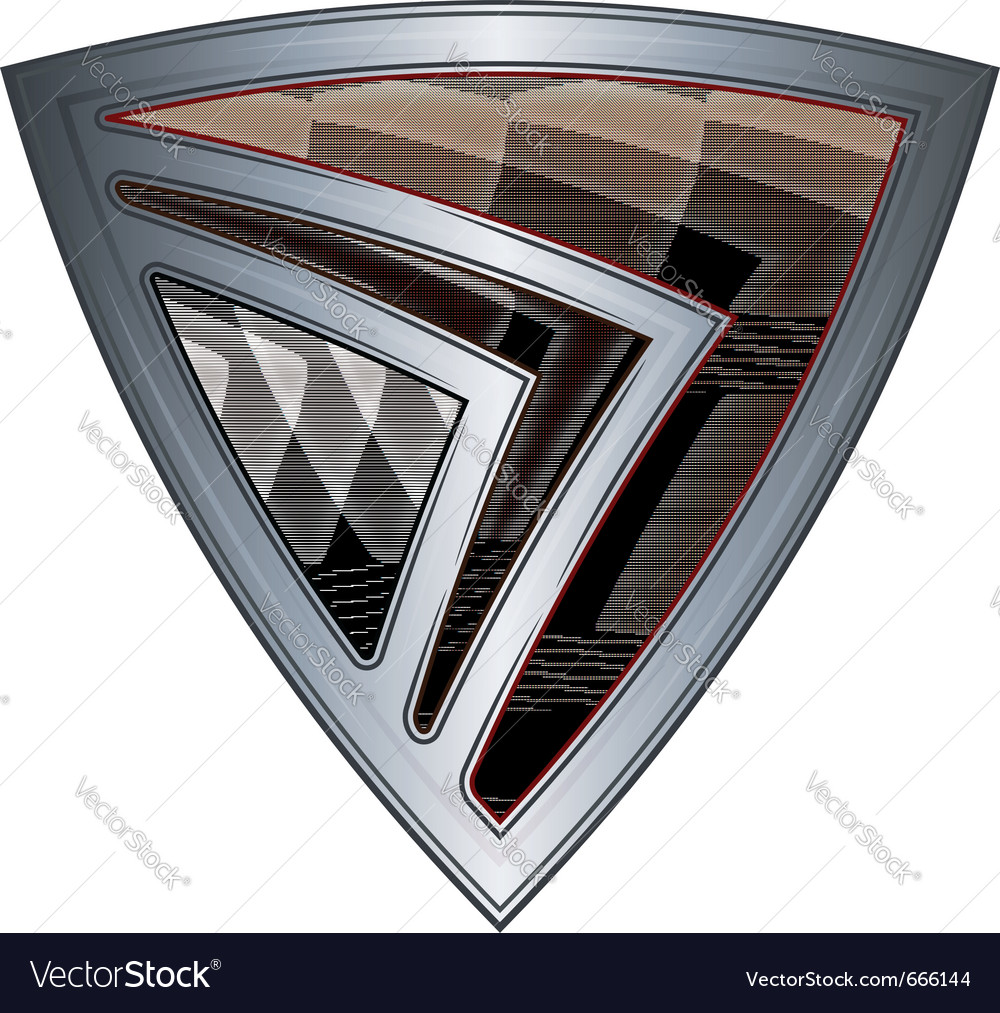 Steel shield with flag east timor vector | Price: 1 Credit (USD $1)
