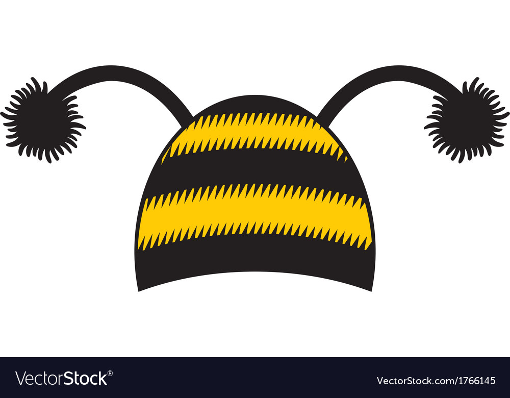 Bee cap vector | Price: 1 Credit (USD $1)