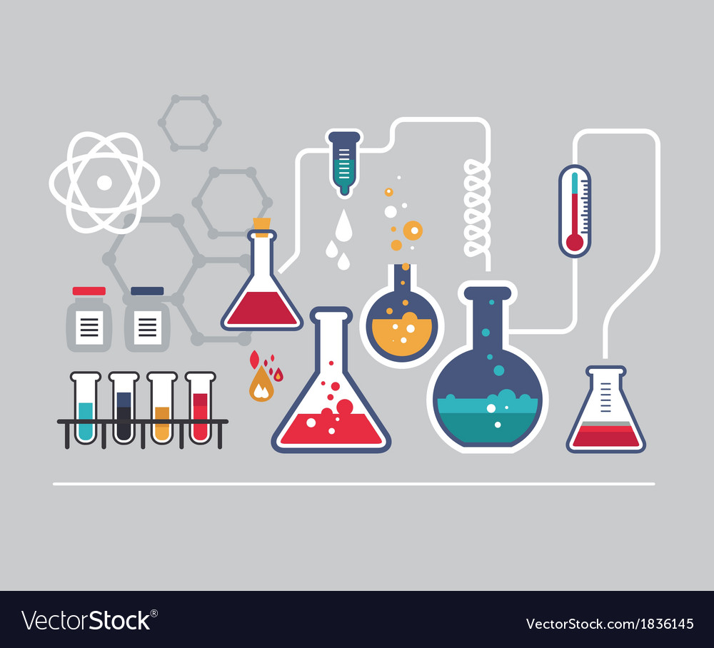Chemistry infographic vector | Price: 1 Credit (USD $1)