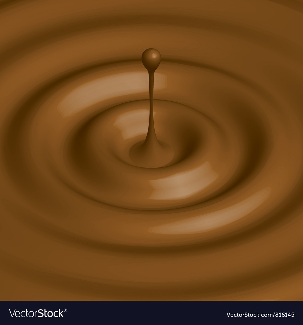 Chocolate hot vector | Price: 1 Credit (USD $1)