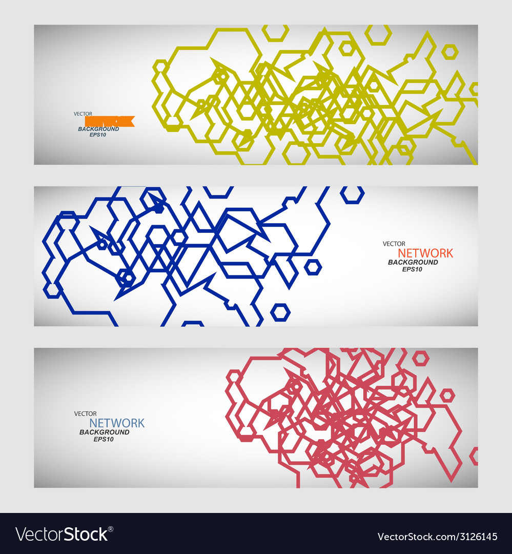 Set three sets of abstract contour lines vector | Price: 1 Credit (USD $1)