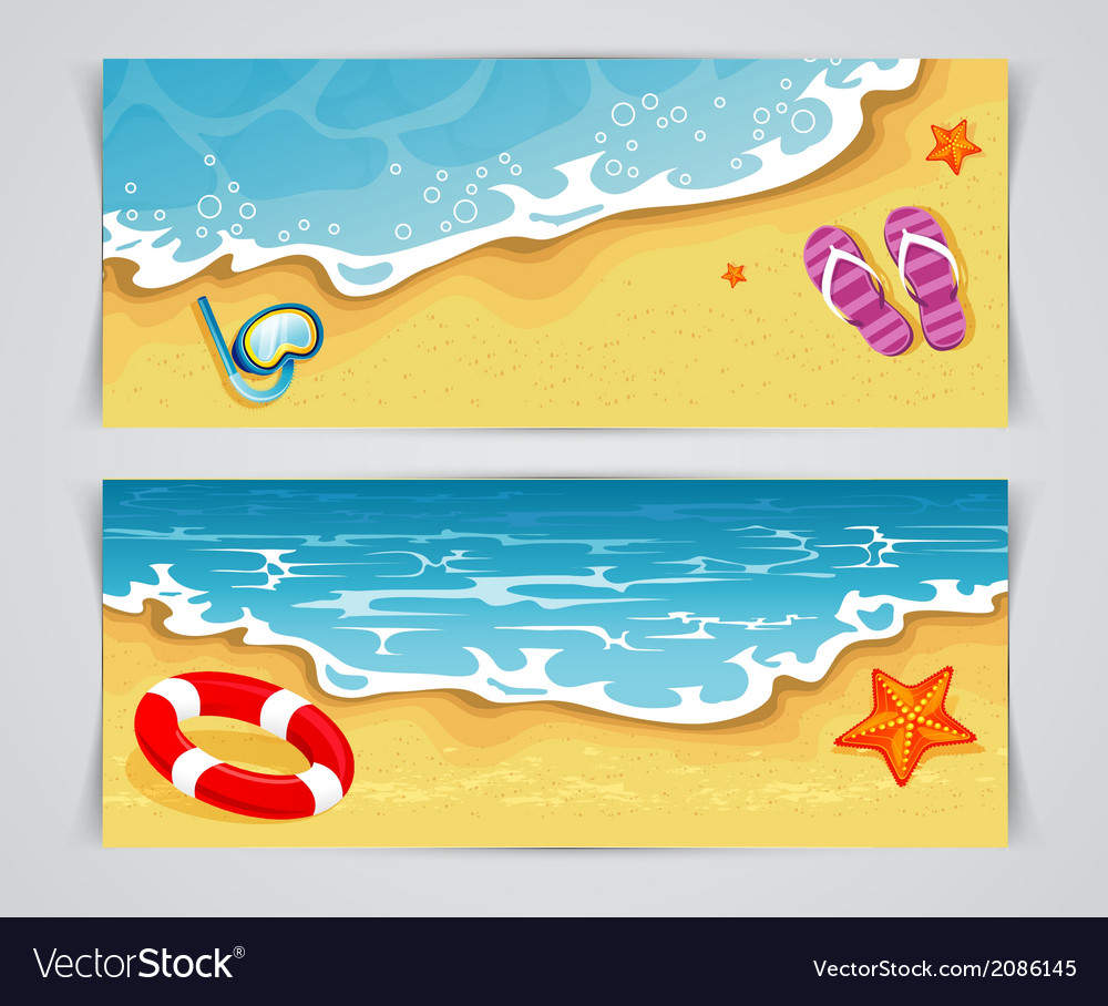 Summer cards vector | Price: 1 Credit (USD $1)