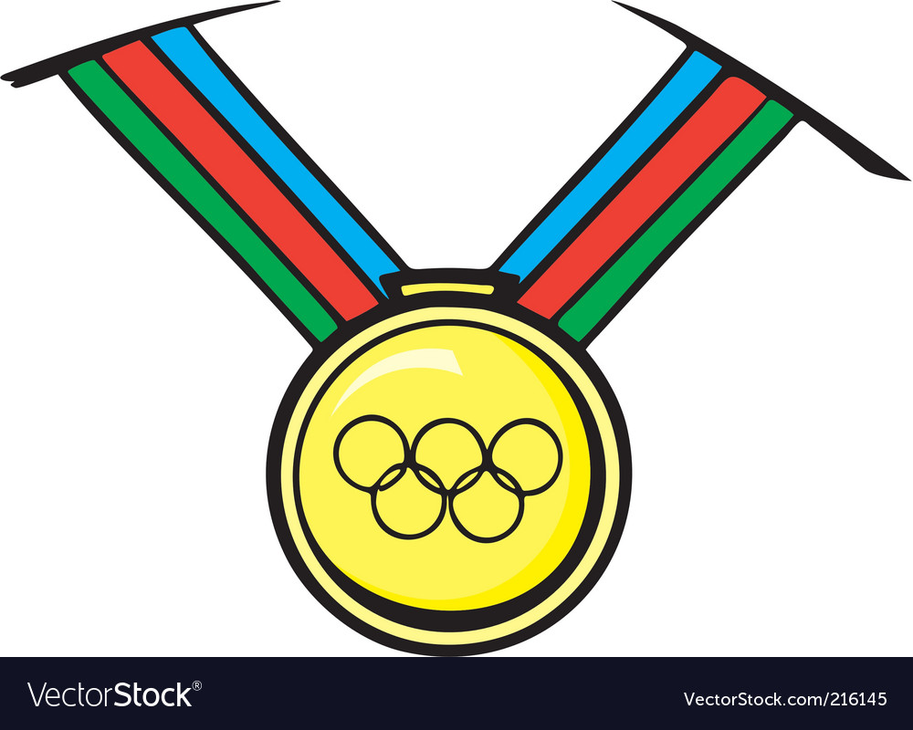 Track field medal vector | Price: 1 Credit (USD $1)