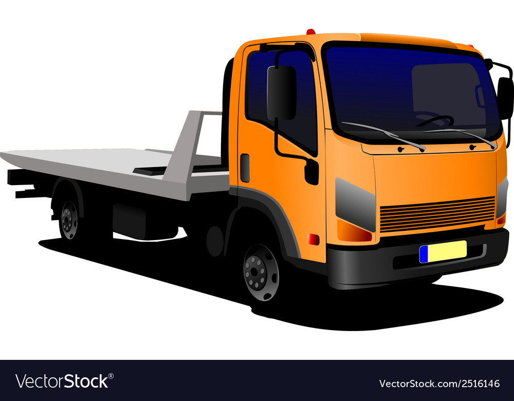 Al 0236 lorry vector | Price: 1 Credit (USD $1)
