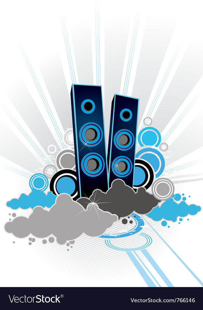 Musical abstraction vector | Price: 1 Credit (USD $1)