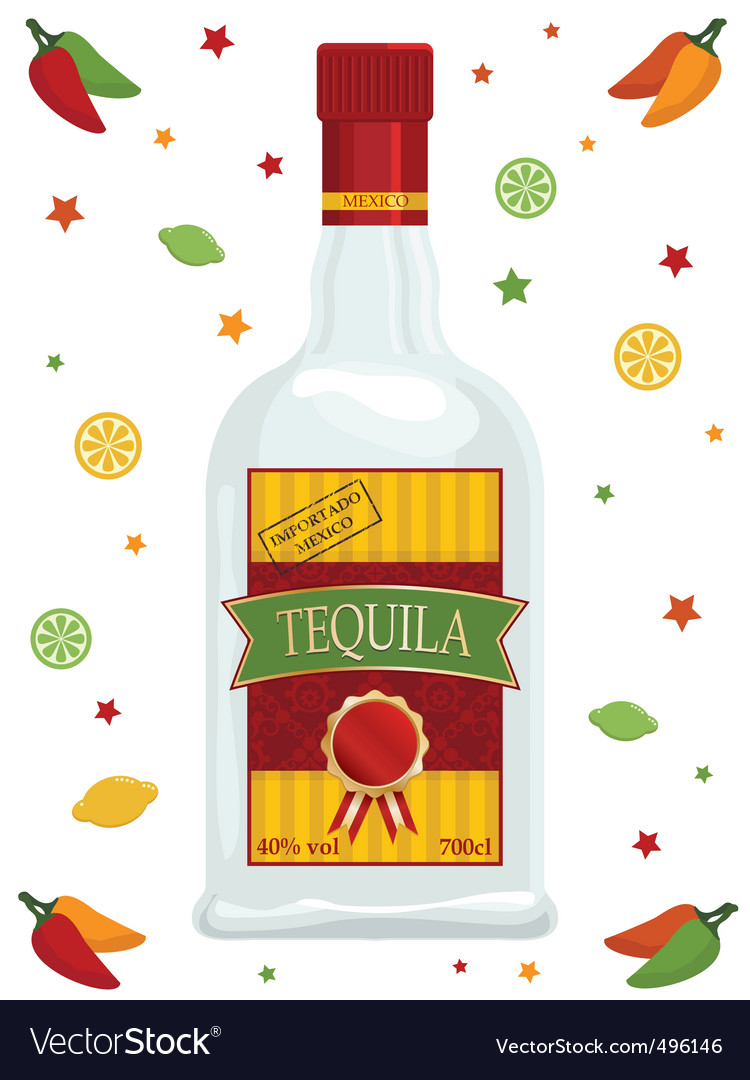 Tequila vector | Price: 3 Credit (USD $3)