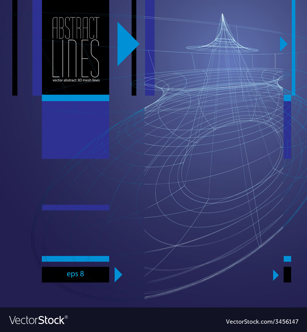 Modern lines background clear eps 8 vector   Price: 1 Credit (USD $1)
