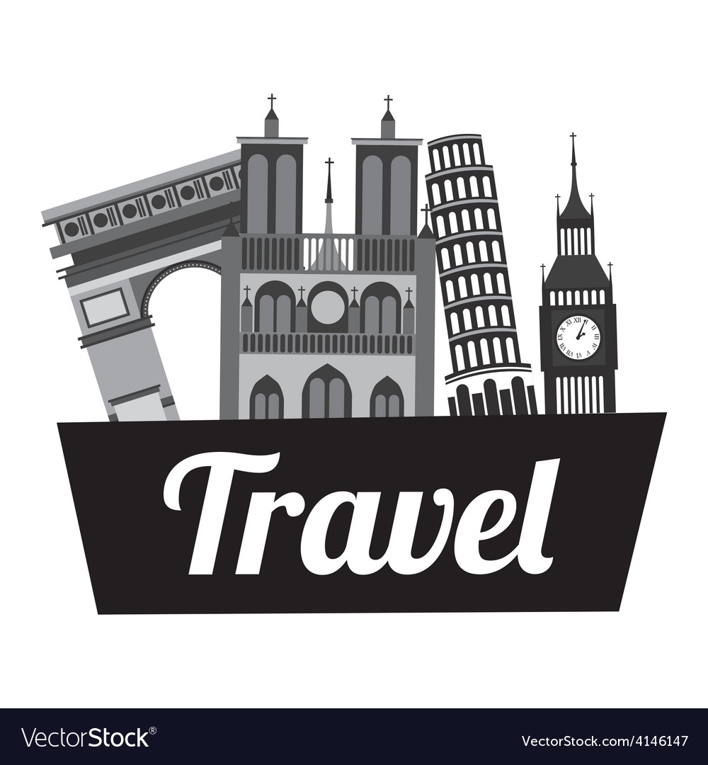 Travel vacations vector | Price: 1 Credit (USD $1)