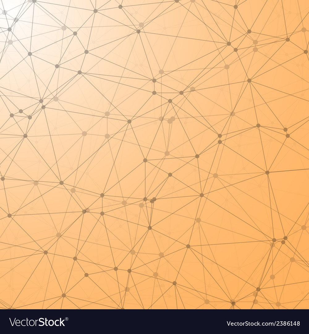 Lines geometric connections vector | Price: 1 Credit (USD $1)