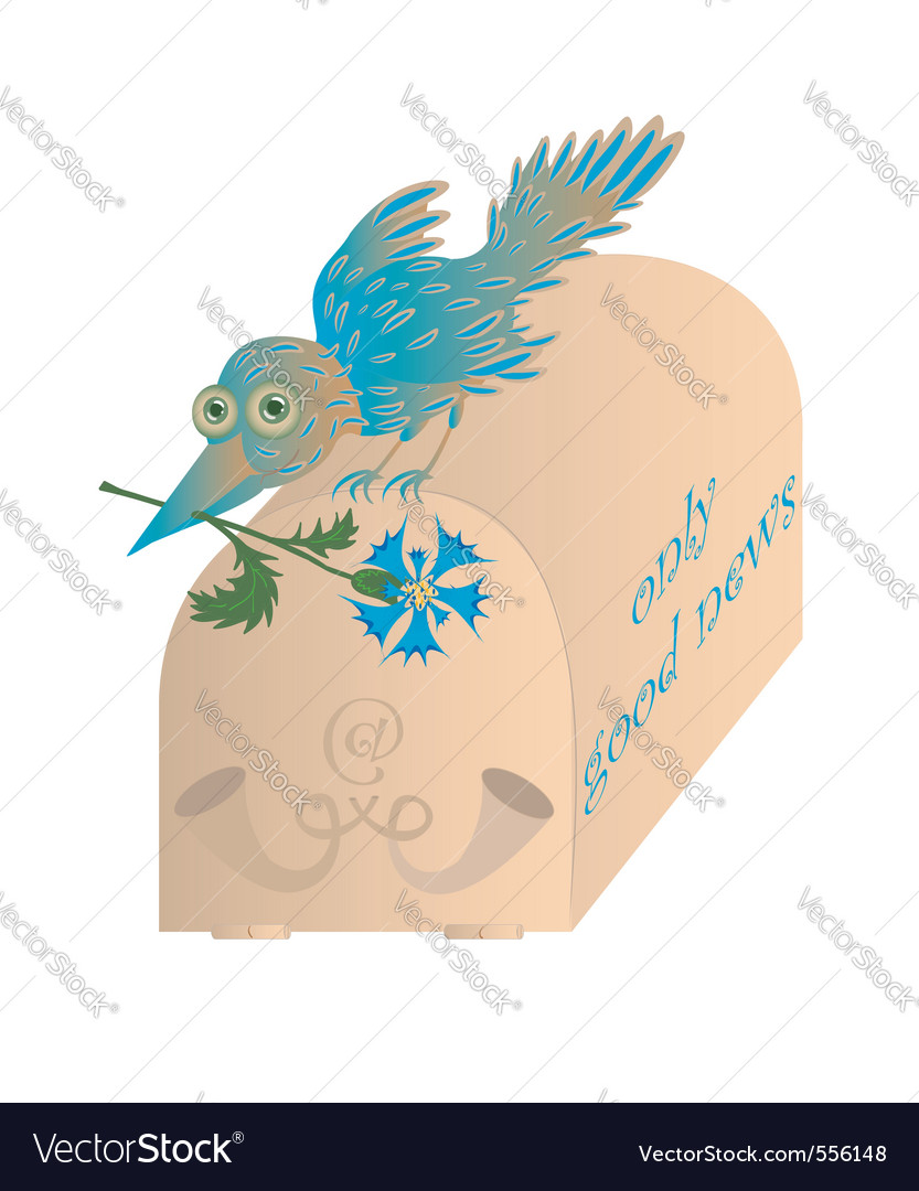 Nature bird vector | Price: 1 Credit (USD $1)