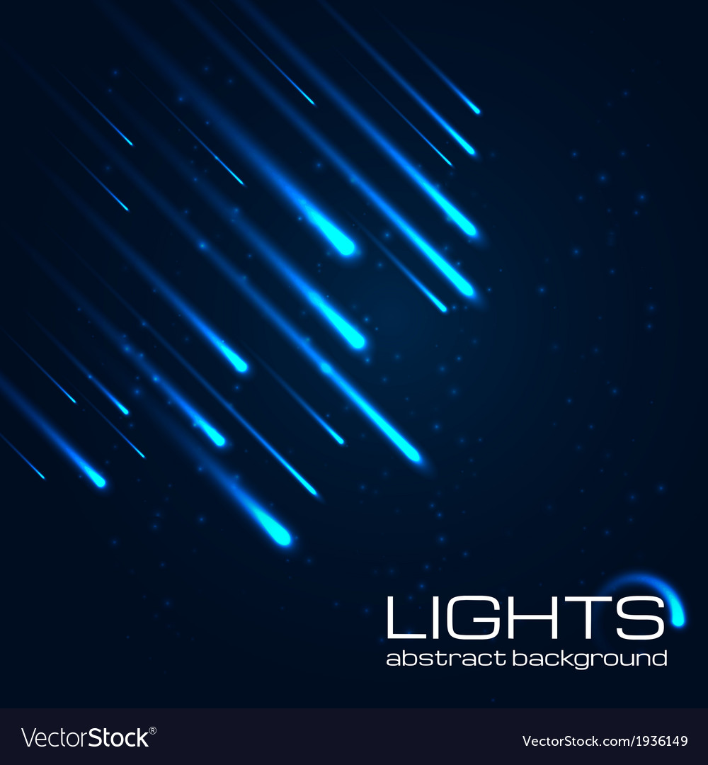 Bright abstract lights background vector | Price: 1 Credit (USD $1)