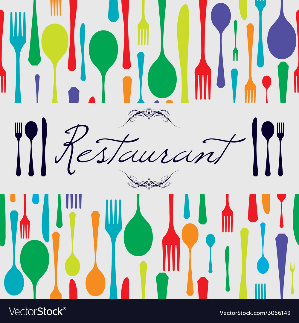 Cutlery restaurant vector | Price: 1 Credit (USD $1)