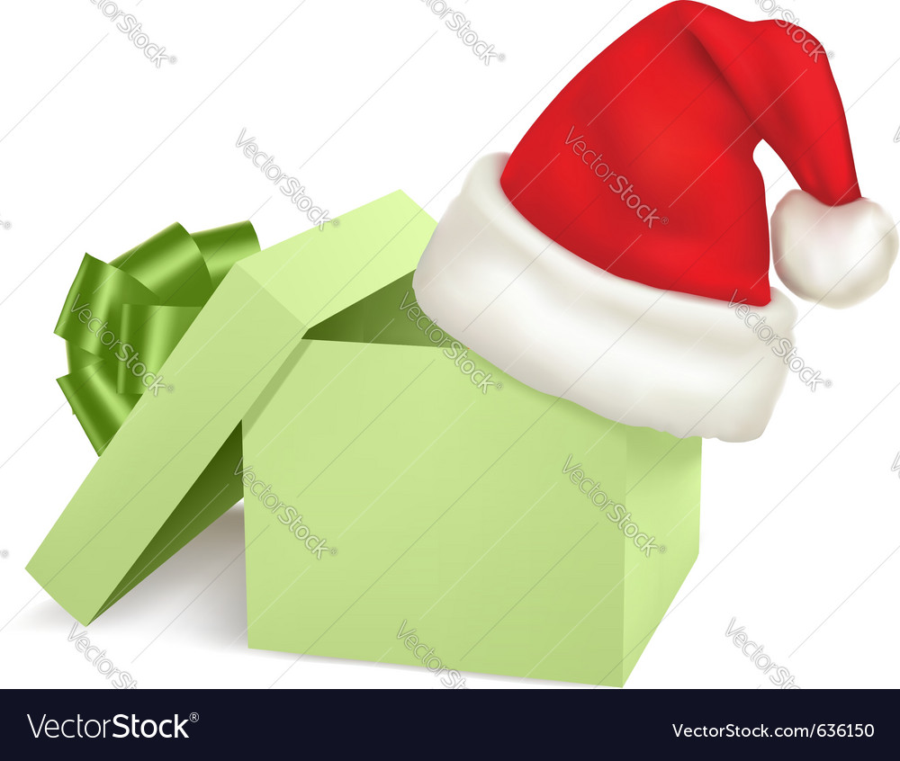 Christmas box vector | Price: 1 Credit (USD $1)