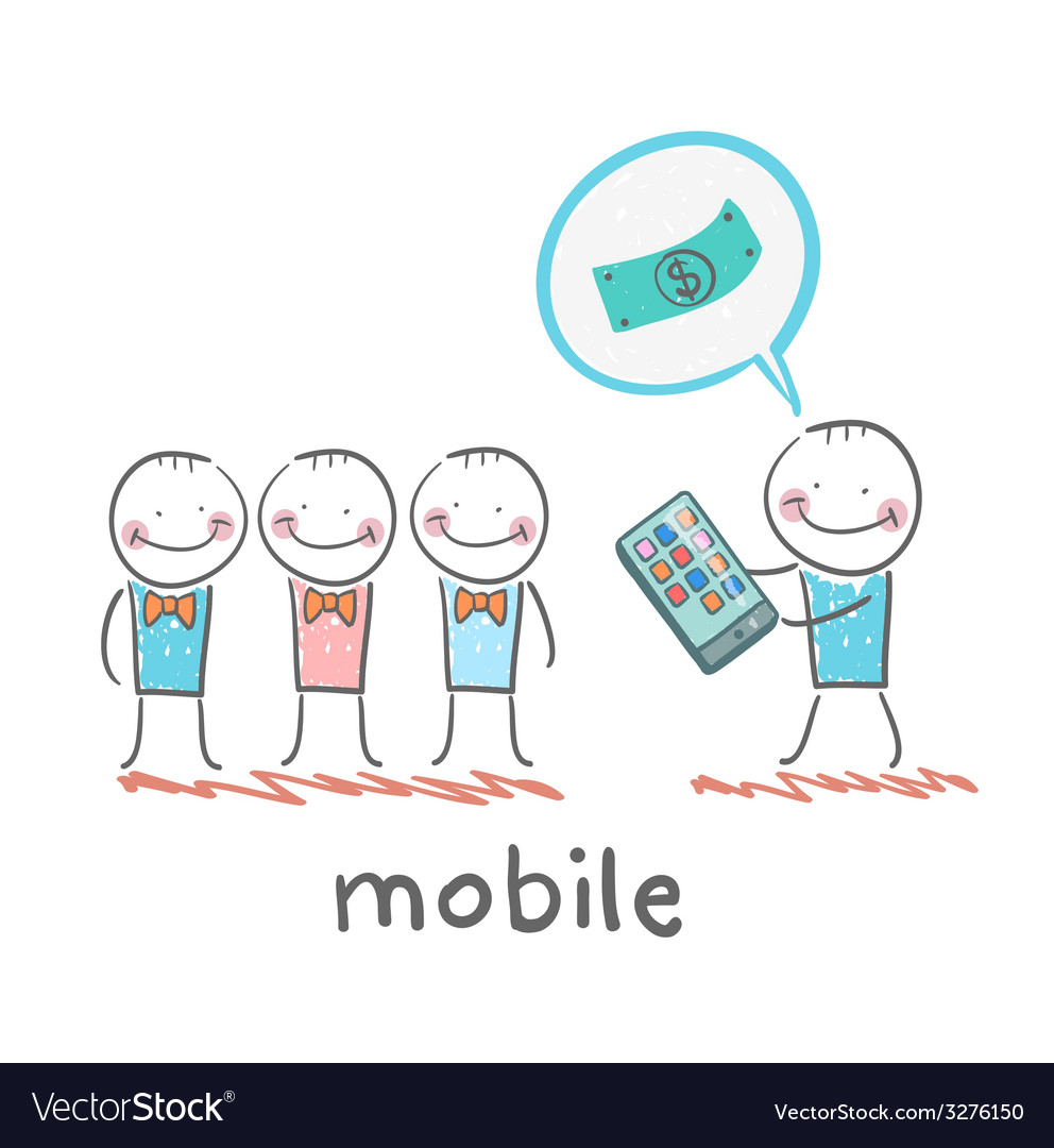 People buy mobile vector   Price: 1 Credit (USD $1)