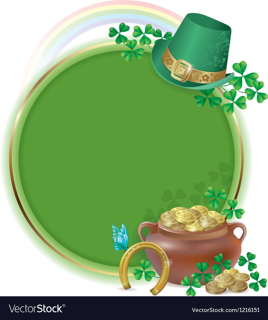 Saint patricks day card vector | Price: 1 Credit (USD $1)