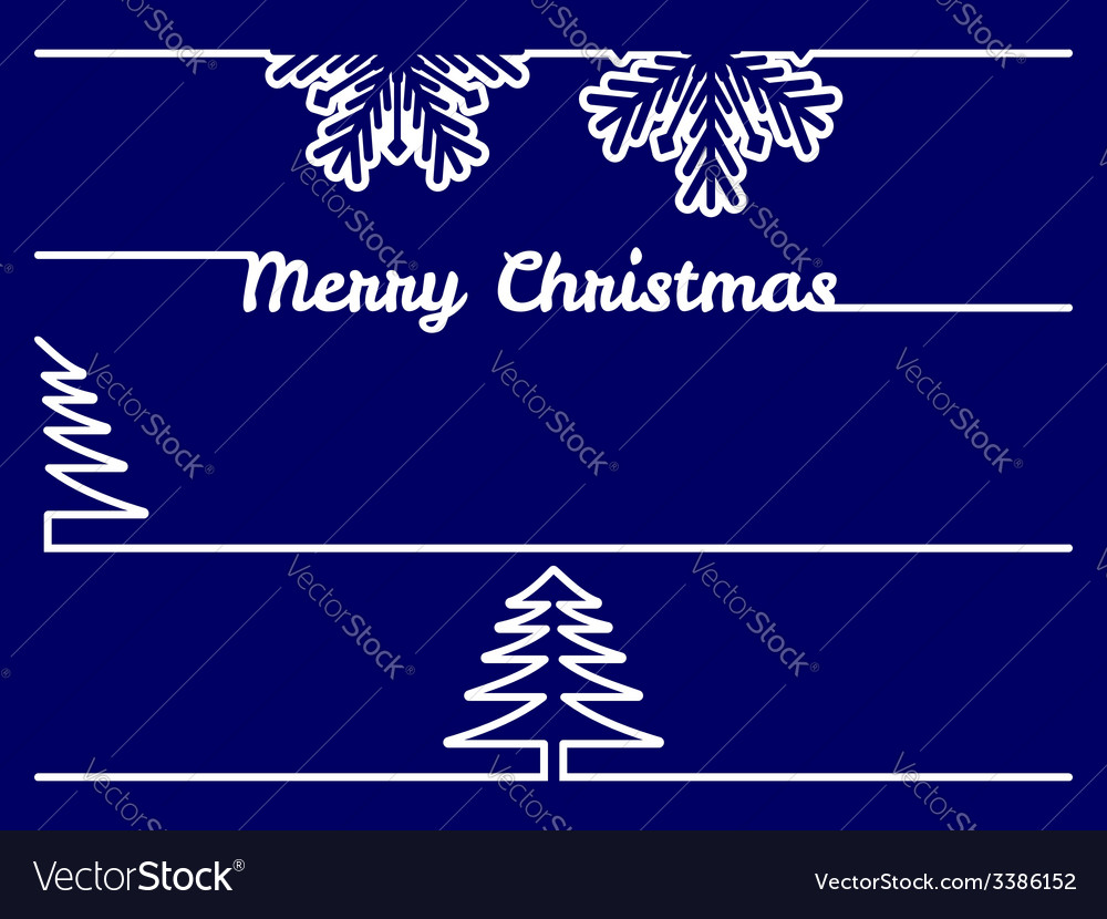 Christmas borders - dividers vector | Price: 1 Credit (USD $1)