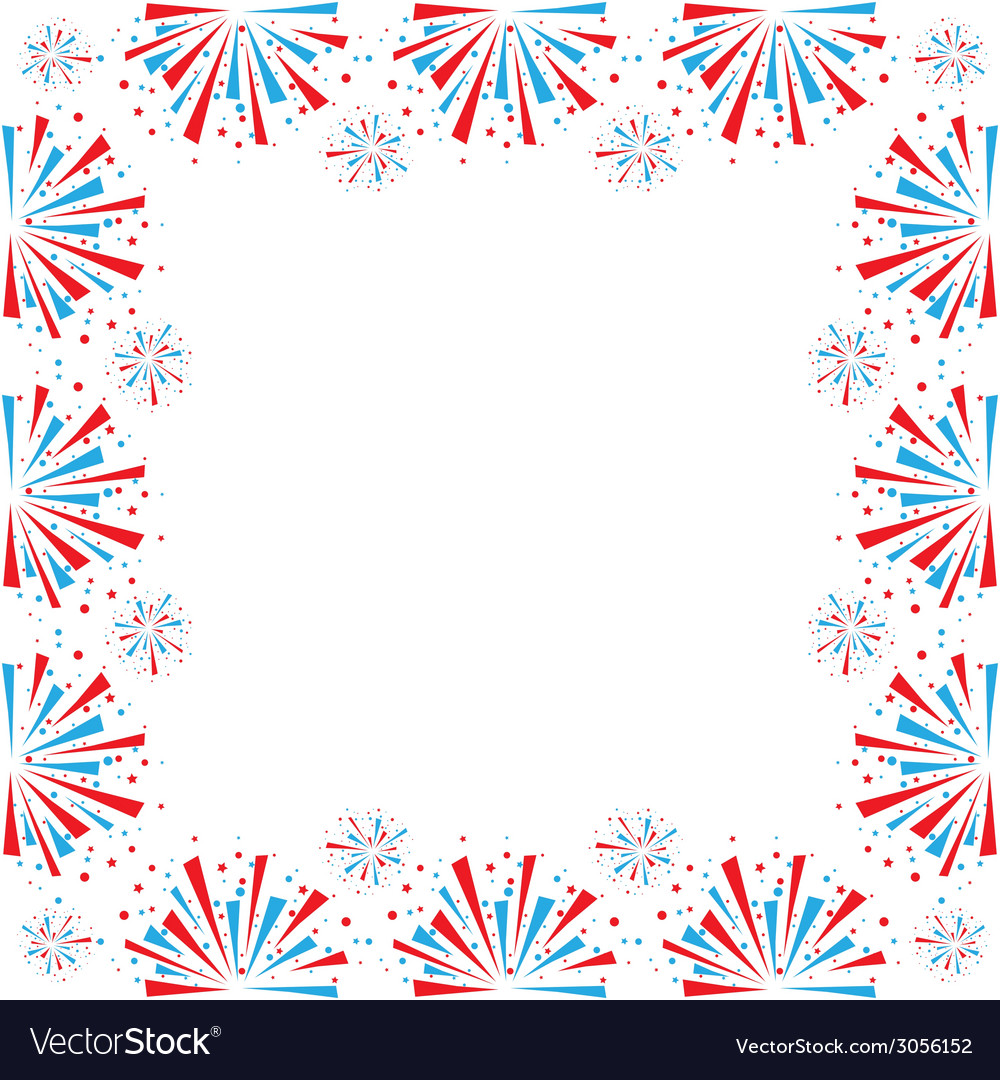 Firework on white vector | Price: 1 Credit (USD $1)