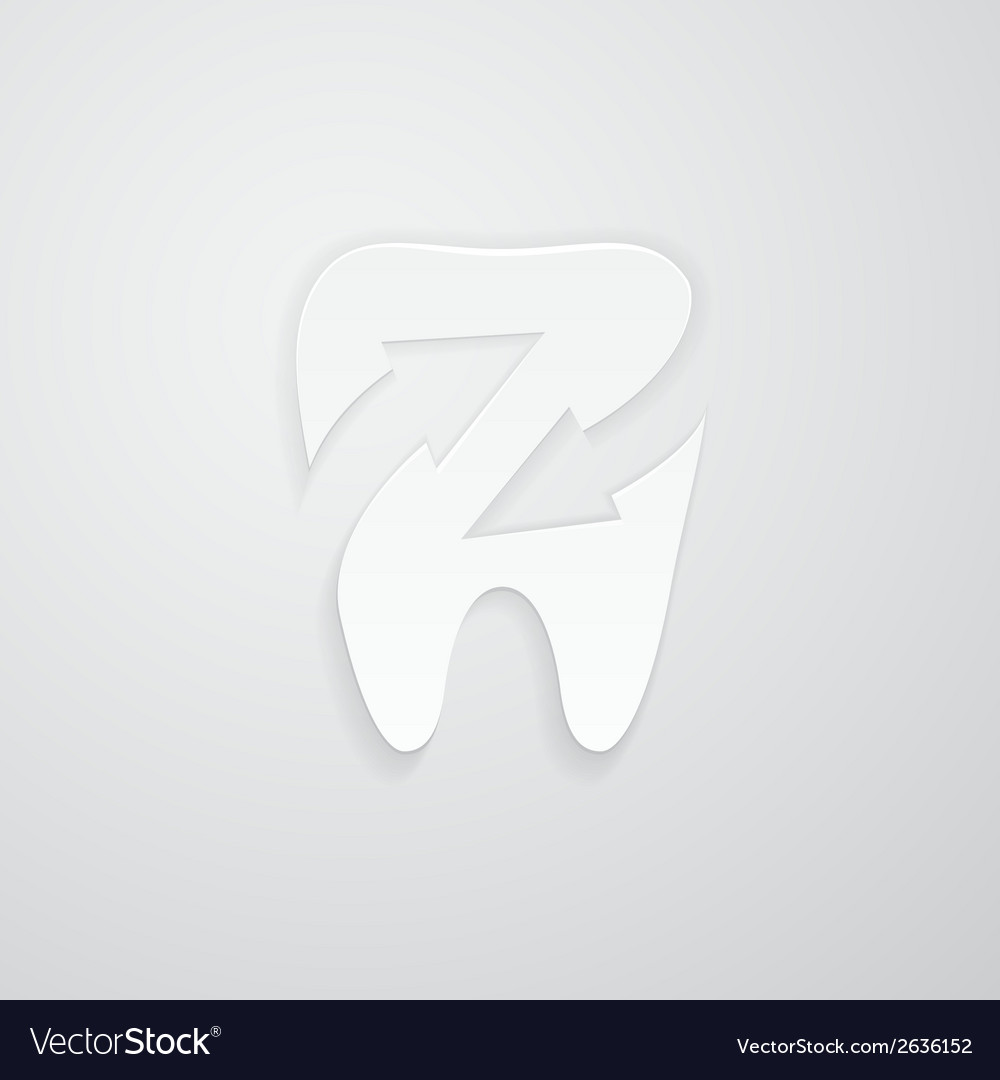 Icon protected around the tooth vector | Price: 1 Credit (USD $1)