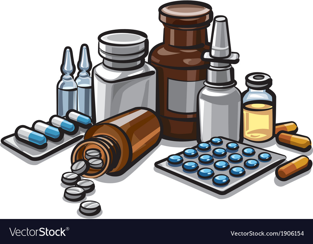 Drugs and peels vector | Price: 3 Credit (USD $3)