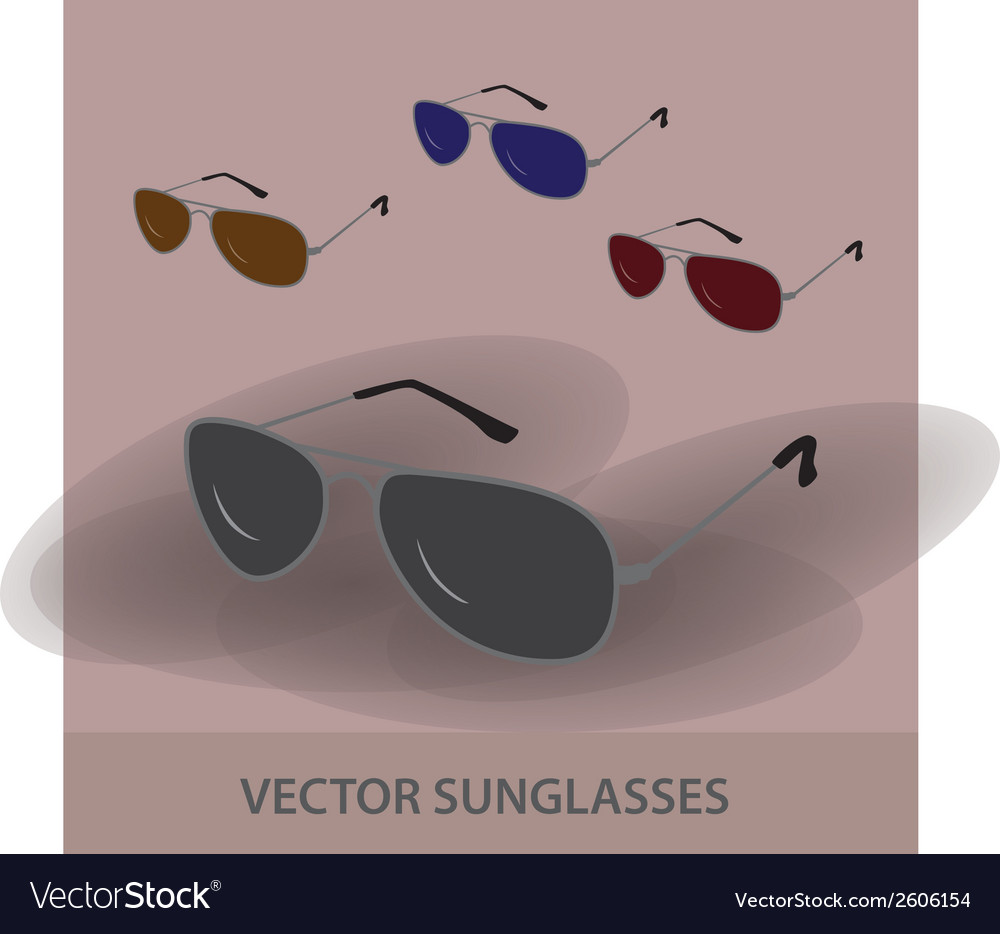 Sunglassess eps10 vector | Price: 1 Credit (USD $1)