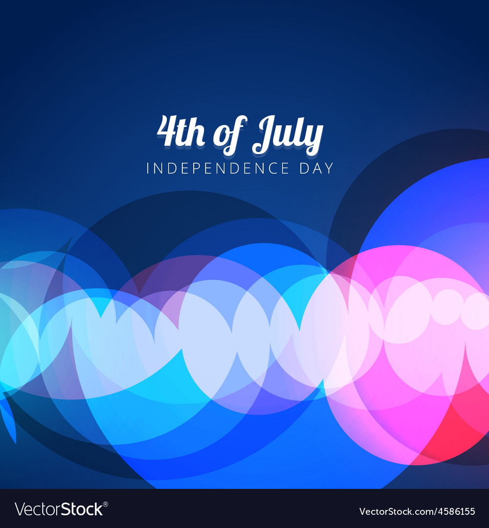 Abstract 4th of july vector | Price: 1 Credit (USD $1)